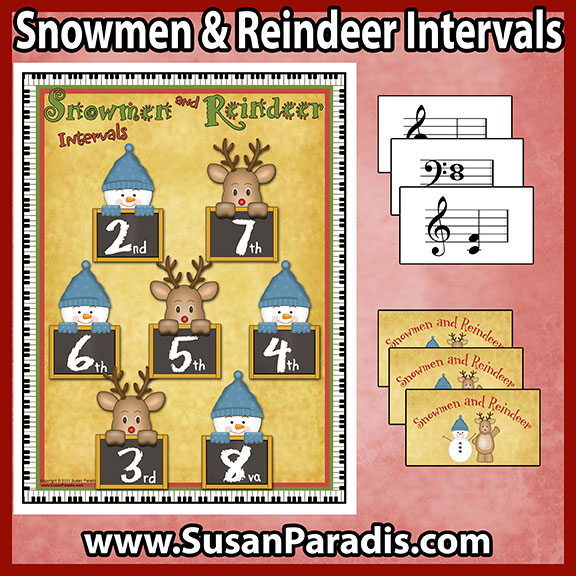 Snowmen and Reindeer Interval Game