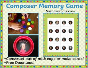 Composer Memory Game