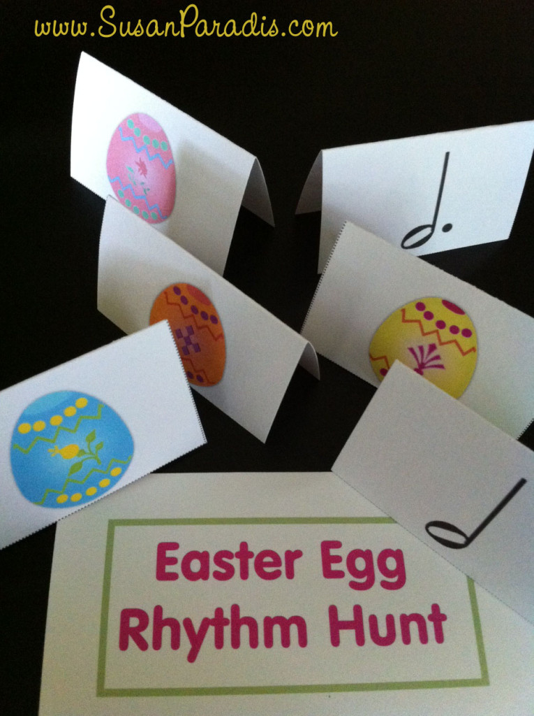 Easter Egg Rhythm  Hunt