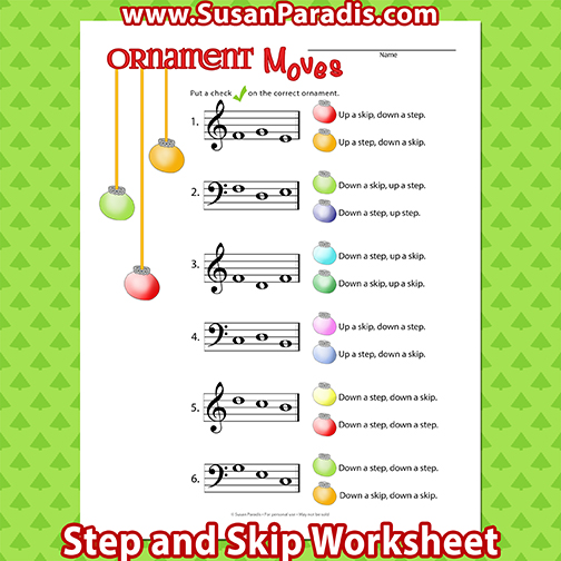 Ornament Moves Steps and Skips