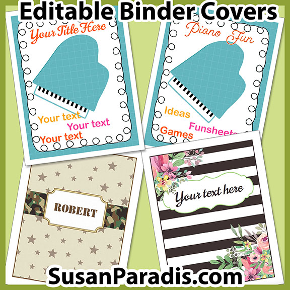 Binder Cover Bundle